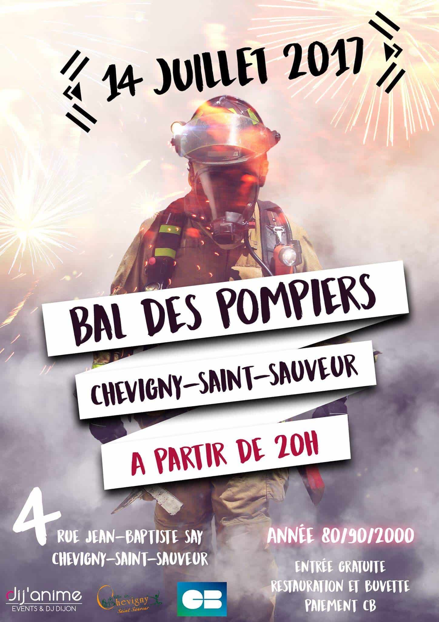 Bal des pompiers de Dijon