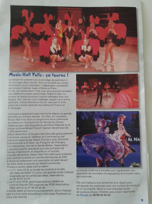 Dans le journal de Perrigny-Lés-Dijon